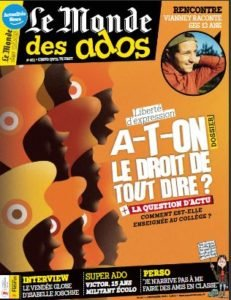 Le Monde des Ados n°461