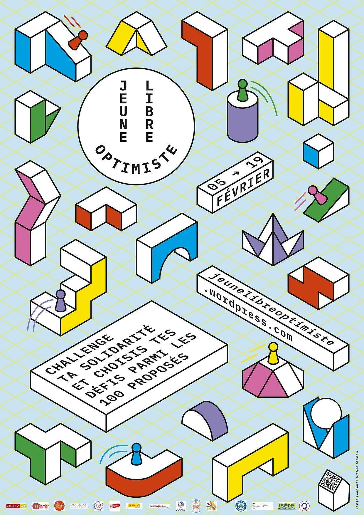 Inscription à la 3èm édition de Jeune, Libre et Optimiste